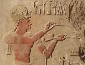 Cour à portique de Thoutmosis IV - projet Karnak