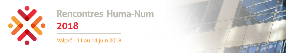 Présentation du projet Karnak aux « Rencontres de la TGIR Huma-Num 2018 »